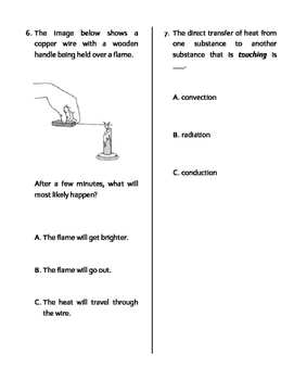 Conservation of Energy MODIFIED Quiz, Test, or WS