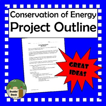 Conservation of Energy Mini-Project Outline