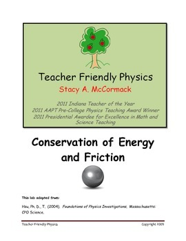 Conservation of Energy and Friction