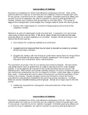Conservation of Habitats