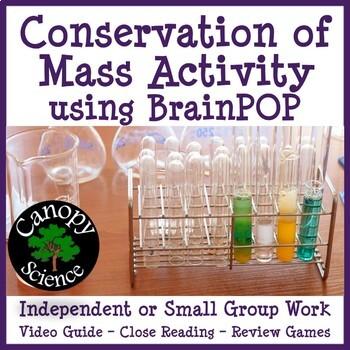 Conservation of Mass Brain Pop