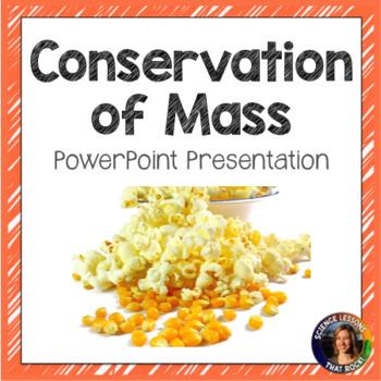 Conservation of Mass SMART notebook presentation