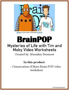 Conservation of Mass for BrainPOP video