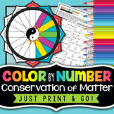 Conservation of Matter - Color By Number