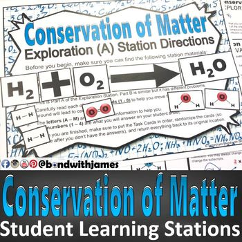 Conservation of Matter Student Blended Learning Stations