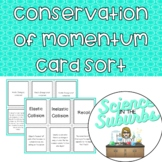 Conservation of Momentum Card Sort