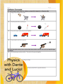 Conservation Of Momentum Worksheets & Teaching Resources | TpT