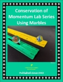 Conservation of Momentum Lab Series using Marbles
