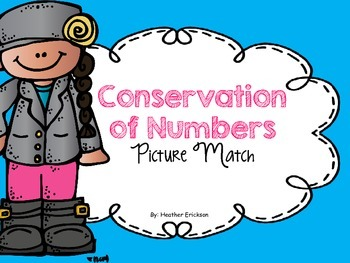 Conservation of Numbers Picture Match