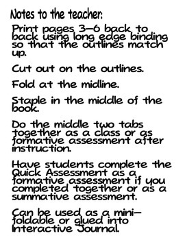 Conservation of Resources Tab Booklet (Ohio ES 3.3)