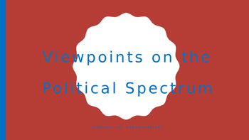Conservative vs. Liberal Viewpoints PPT
