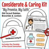 "Considerate & Caring Kit - Girl Scouts - ""My Promise, My Faith"" Pin - All Steps!"