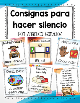 Consignas para hacer silencio (Attention grabbers SPANISH)