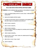 Consitution Search Investigation Worksheet