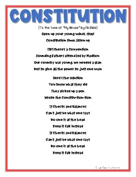 Consitution Day Song