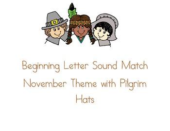 Consonant Beginning Letter Sound Match
