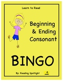 Reading Games: Beginning & Ending Consonants (Learn to Rea