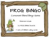 Consonant Blend Bingo Game