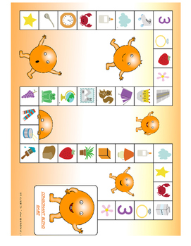 Consonant Blend Board Game