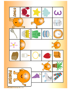 Consonant Blend Board Game