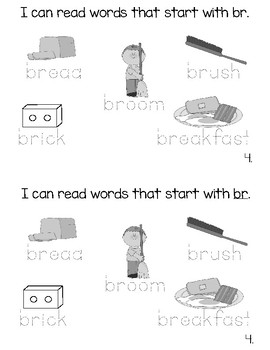 Consonant Blend Books