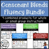 Consonant Blends Fluency Bundle {Small Group Instruction and Intervention}