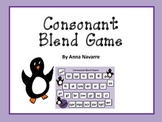 Consonant Blend Game