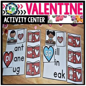 Valentine Activity Center {Consonant Blends}