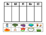 Consonant Blend Picture Sort