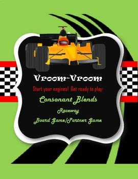 Consonant Blend Raceway