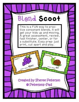 Consonant Blend SCOOT