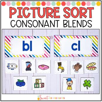 Consonant Blend Sort