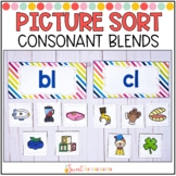 Consonant Blends Sort