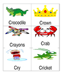 Consonant Blend Word/Picture Cards