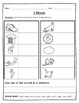 Consonant Blend Worksheets for Word Work {DIFFERENTIATED}