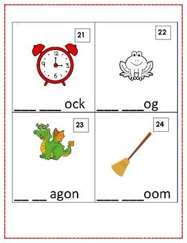 Consonant Blend Write the Room