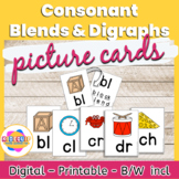 Consonant Blend and Digraph Flashcards