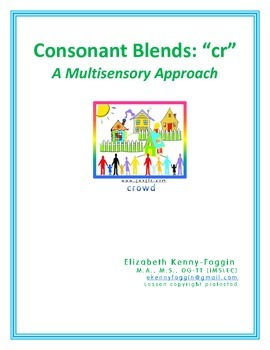 "Consonant Blend ""cr-"": A Multisensory Approach"
