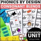 Phonics By Design Consonant Blends BUNDLE {L, S, & R Blends}