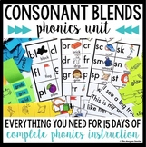 Phonics By Design Consonant Blends BUNDLE {L, S, & R Blend