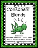Consonant Blends Activity
