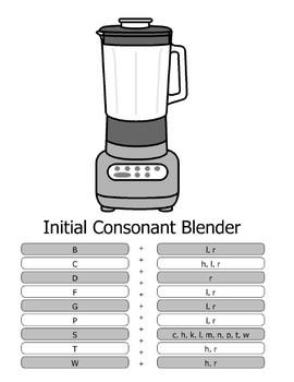 Consonant Blends / Consonant Clusters