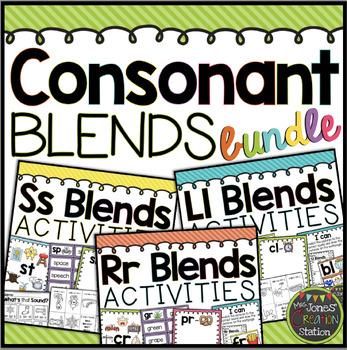 Consonant Blends BUNDLE