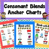 Consonant Blends Anchor Charts