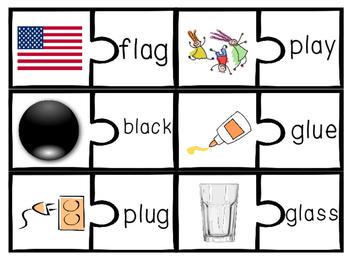 Consonant Blends Beginning Matching r blend, s blend, l blend tri blend