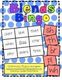 Consonant Blends Bingo
