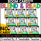 Consonant Blends Boom Cards™️ for Blends Distance Learning