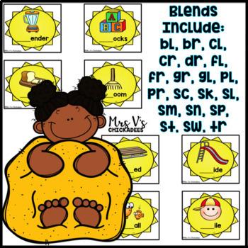 Consonant Blends Center: Hands on Sandbox Activity