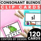Centers by Design: Consonant Blends Clip Cards BUNDLE