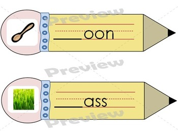 Consonant Blends & Consonant Digraphs Wipe and Write